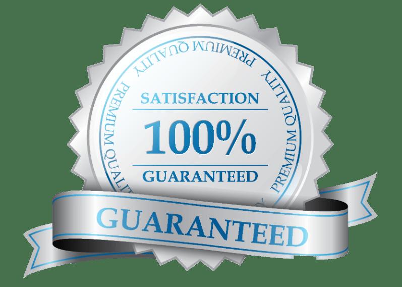 satisfaction guarantee award