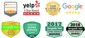 gutter cleaning service awards