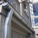 galvanized steel gutter installation