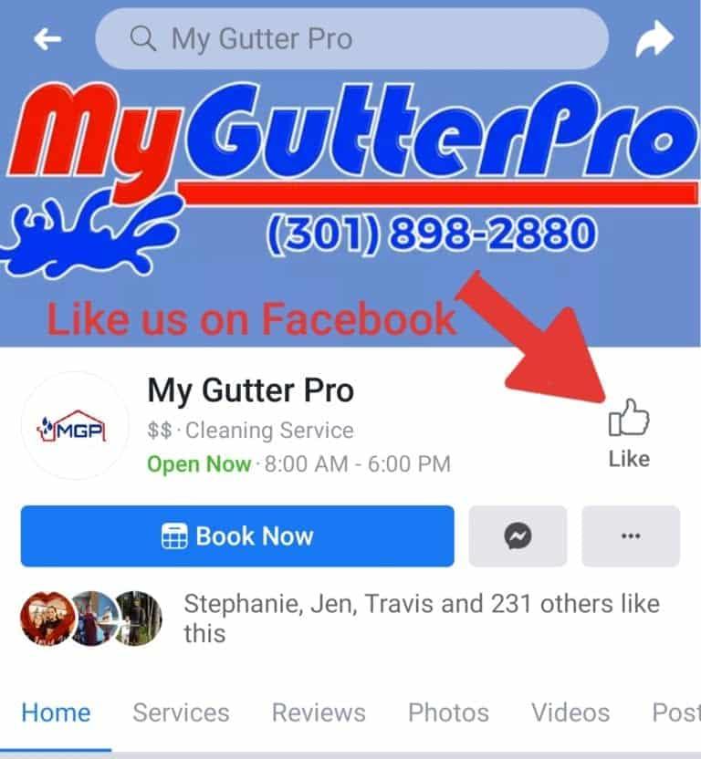 my gutter pro facebook logo