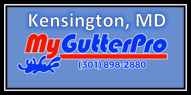 gutter cleaning in kensington md