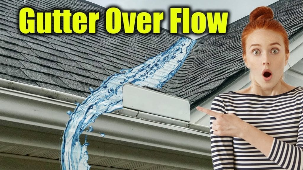Gutter Guards Over Flow & Splash Over