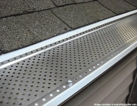 Perforated Aluminum Gutter Guards