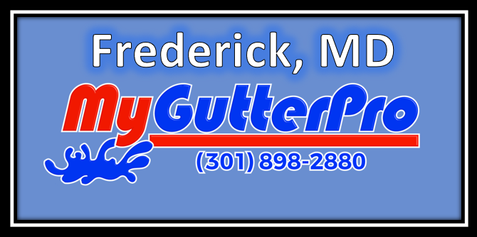 gutter installation in frederick md