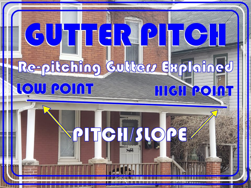 gutter pitch diagram