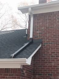 Downspout Extensions Connect Upper Gutters To Lower