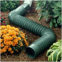 corrugated flex pipe downspout