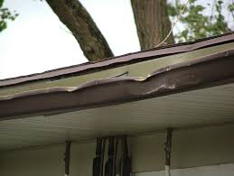 dented gutter
