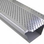 perforated aluminum gutter cover