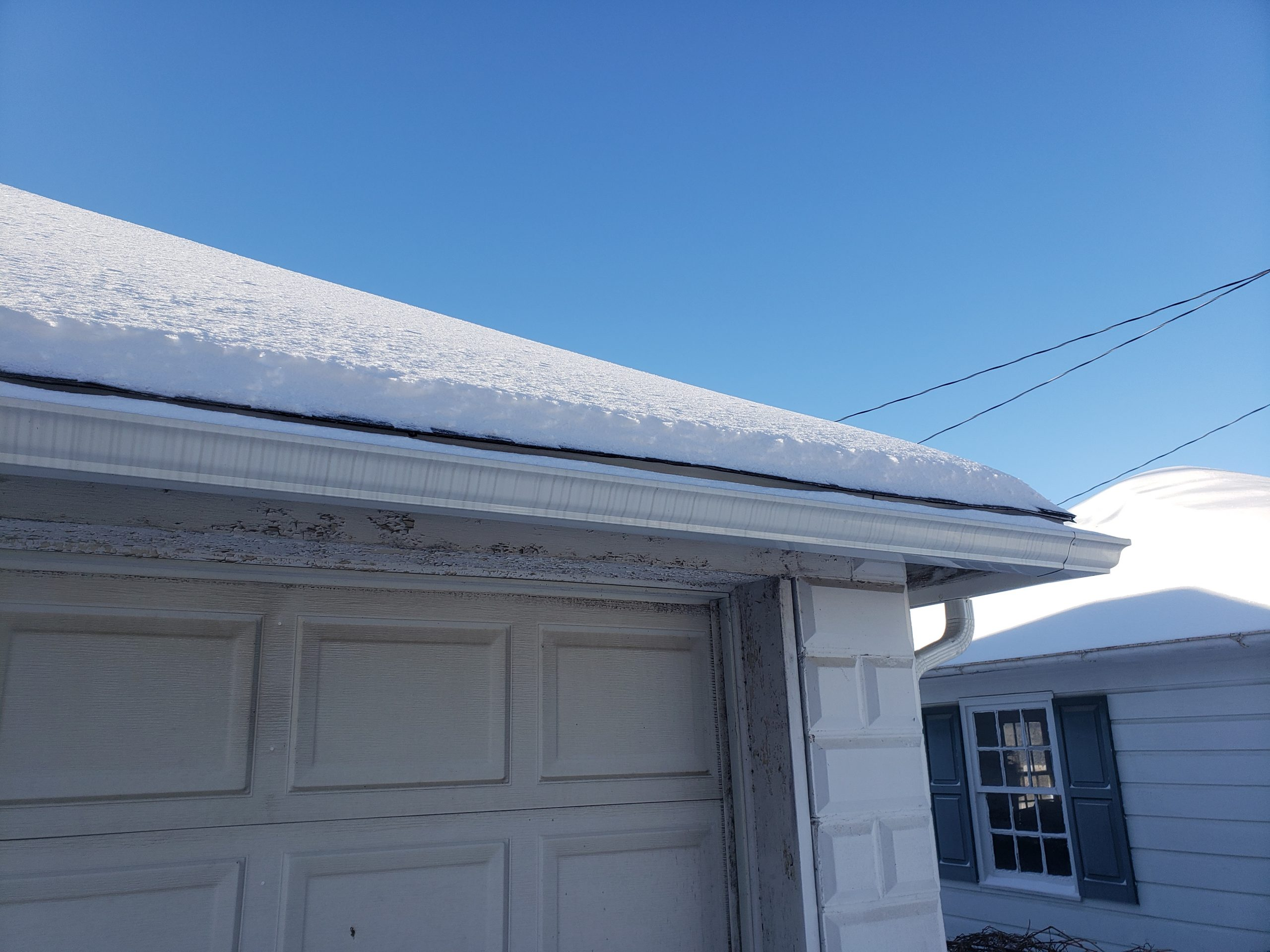 winter gutter cleaning